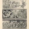 [Figure du haut.-- bronze ciselé et doré faisant partie de la suite des bronzes reproduit planche IX (palais de Fontainebleau).][...]