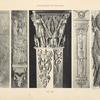 Figure de gauche.-- bronze ciselé ornant le panneau d'un des pilastres d'angle d'une grande commode (palais de Versailles).][...]