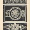 [Figure du haut.-- motif en bronze ciselé ornant le socle d'une pendule (palais de Fontainebleau).][...]
