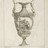 Ier cahier de vases inventés et dessinés par Forty, et gravés par Laurent. [Title page.]