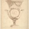 [Vase with center scene of two nude women dancing.]