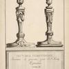 Flambeaux de table; [...] Livre III. [Title page.]