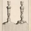 [Two candlesticks.]