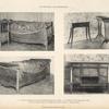 1. u. 2. Bett der Königin Luise aus dem Hohenzollern-Museum zu Berlin. 3. Im Besitze des Herrn Stobwasser, Berlin. [...]