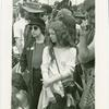 Unidentified demonstration. Christopher Street Liberation Day, 1971 [parade spectators?]