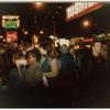 Blues bar demonstration, Times Sq., 43rd & Bway