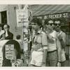 Christopher & Bleecker Streets N.Y.C. Gay pride street fair.