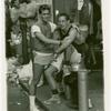 Christopher Street N.Y.C. Gay pride street fair.