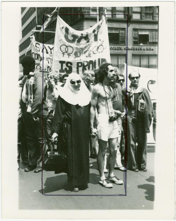 Christopher Street Liberation Day parade N.Y.C., 1973