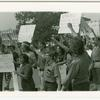 GAA demonstration at Suffolk County police headquarters, 1971 August 22