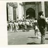 St. Patricks Cathedral. N.Y. gay pride march.
