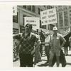 N.Y. gay pride parade. Dominick Florio, Don Barrington - Gay Atheist League.
