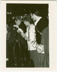 AIDS candlelight march, N.Y.C.  Jim Fouratt, Susan Sarandon.