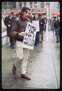 Gay Liberation Front pickets Time, Inc. [1]