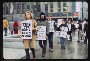 Gay Liberation Front pickets Time, Inc. [17]