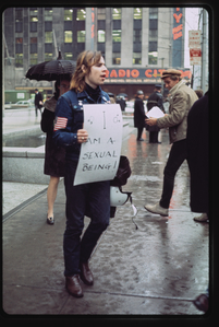 Gay Liberation Front pickets Time, Inc. [20]