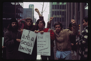 Gay Liberation Front pickets Time, Inc. [23]