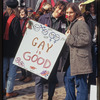 Gay rights demonstration, Albany, New York, 1971 [1].