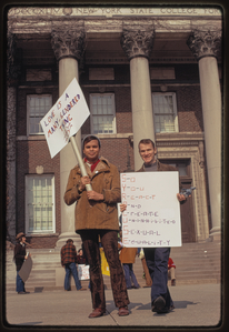 Gay rights demonstration, Albany, New York, 1971 [3].