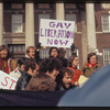 Gay rights demonstration, Albany, New York, 1971 [7].