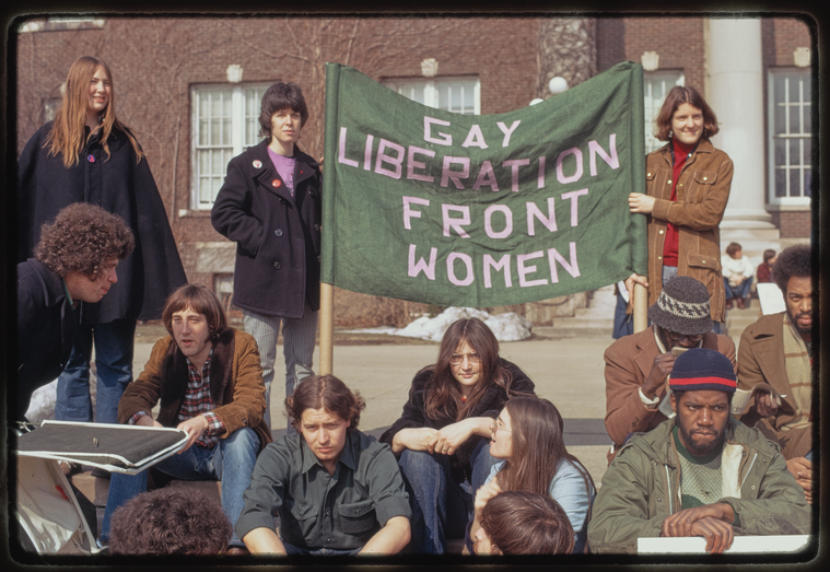 Gay rights demonstration, Albany, New York, 1971 [11].