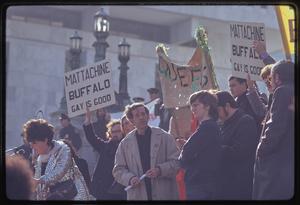 Gay rights demonstration, Albany, New York, 1971 [14].