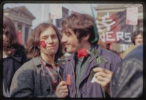 Gay rights demonstration, Albany, New York, 1971 [17].