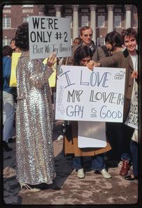 Gay rights demonstration, Albany, New York, 1971 [26].