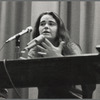 "Kate Millett admits to being ""bisexual"" at Columbia University panel discussion, 1970."