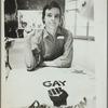 Kady at Gay Pride Crafts Fair, New York City, 1971.