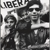Three participants in the Gay Liberation Front march on Times Square, New York City, 1969