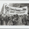 Gay Contingent, Vietnam War protest march