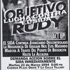 Objetivo Rudy. Lucha contra el SIDA.