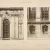 Chapelle du palais; ordre extérieur du 1er étage; ordre extérieur du rez-de-chaussée.