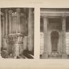 Chapelle; orgue; entre-colonnement de la tribune.