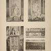 Théatre; 1, 2, 3. - détails du foyer; 4, 5. - détails de la salle.