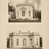 1 - Pavillon de musique; 2 - pavillon français.