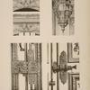 Chapelle du palais; 1 - clefs des arcades du rez-de-chaussée; 2 - lanterne du vestibule; [...]