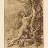 Drawing of Milo of Croton