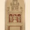 Design for Florentine altar