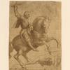 Design for equestrian monument of Ludovico Sforza