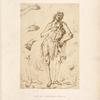 A. Pollajuolo, [sic[ Uffizi, 1903. [Study of John the baptists, hands and feet.]