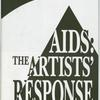 AIDS:  The Artists' Response