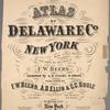"Atlas of Delaware Co., New York"""