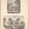 View on the River Delaware; Delaware Literary Institute Franklin N.Y. Found 1835.
