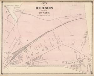 City of Hudson East Part of 4th Ward. [Township]
