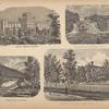 Elmira Female College; Suitherland Falls, Otter Creek, Vt.; Bridge Over the River; Southern Tier Orphans Home, Elmira, N.Y.