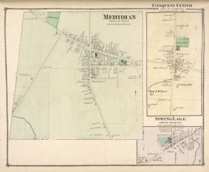 Meridian [Village]; Conquest Centre [Village]; Spring Lake [Village]