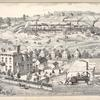 Residence, Tenement Houses & Stone Quarries of Albert Garrett, No.212 State St. Auburn, New York