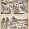 Farm & Residence of Volney Lester, ESQ., East Venice, Cayuga Co., N.Y.; Residence & Farm of Orrin Lester, ESQ., East Venice, Cayuga Co., N.Y.